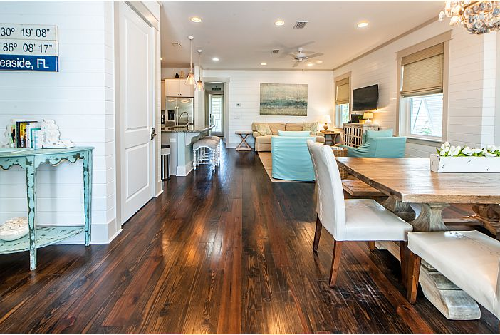 Solid Wood Flooring Throughout
