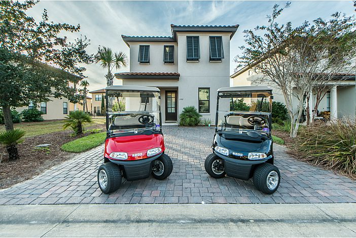 Two (2) Four Seater Golf Carts!