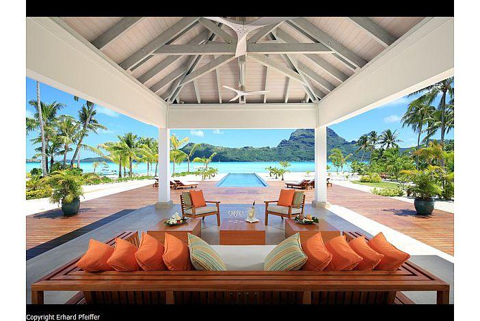 Villa Bora Bora - view from living room