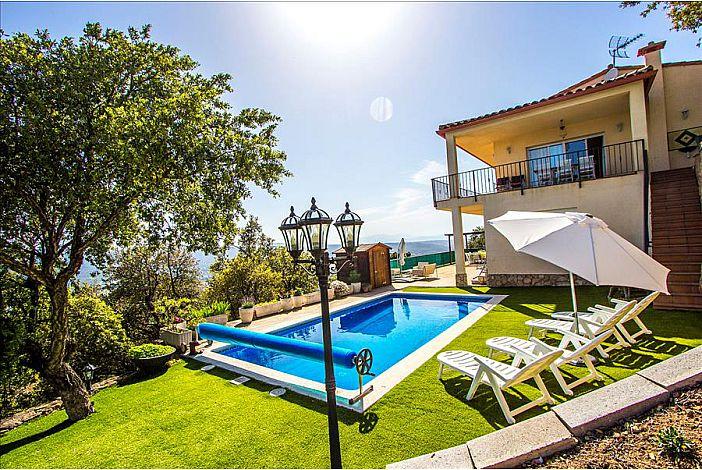 Views of the villa