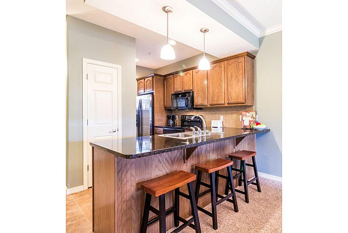 Branson Condo Rental | The Majestic | Kitchen