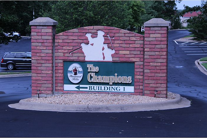 Branson Condo | Thousand Hills Resort | Entrance