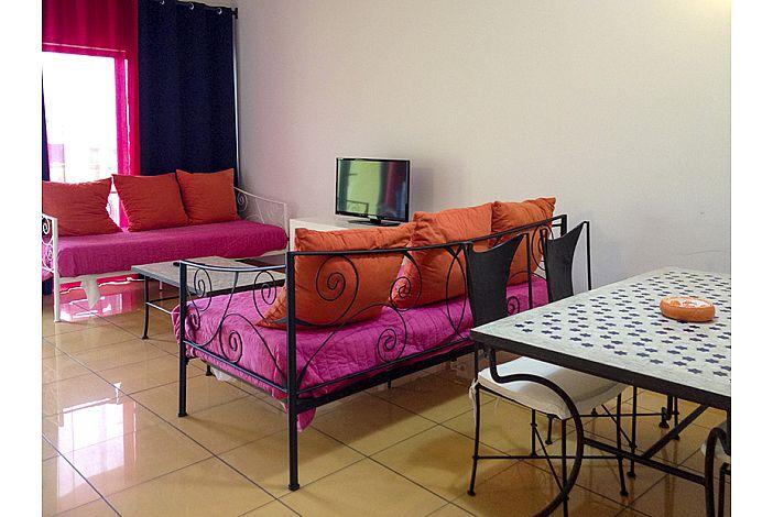 Sala com 2 camas individuais
