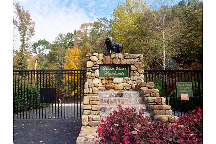 Entrance to Green River Highlands