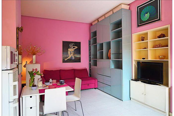 Apartment in Milano (Isola) with Mini-Fridge, Sleep Sofa