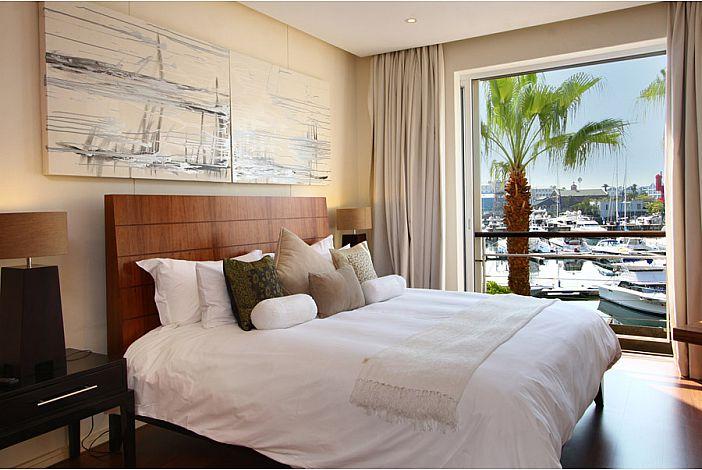 Master Bedroom overlooking Yacht Basin