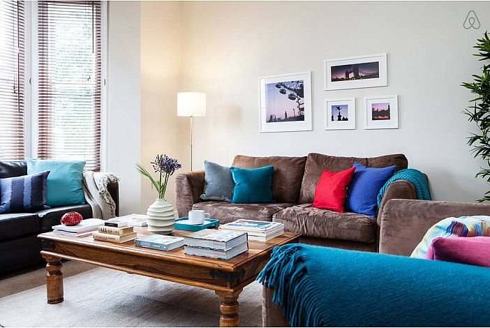 Balham - 2 Bed g/f Flat by Tube