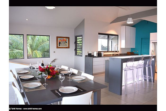 Villa Rental In Moorea – Beautiful View With Pool